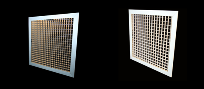 mesh duct grille hvac