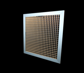 mesh grille duct hvac