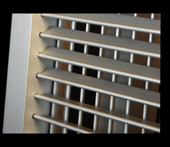 double grille hvac